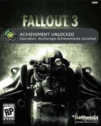 Fallout 3 Achievements Unveiled